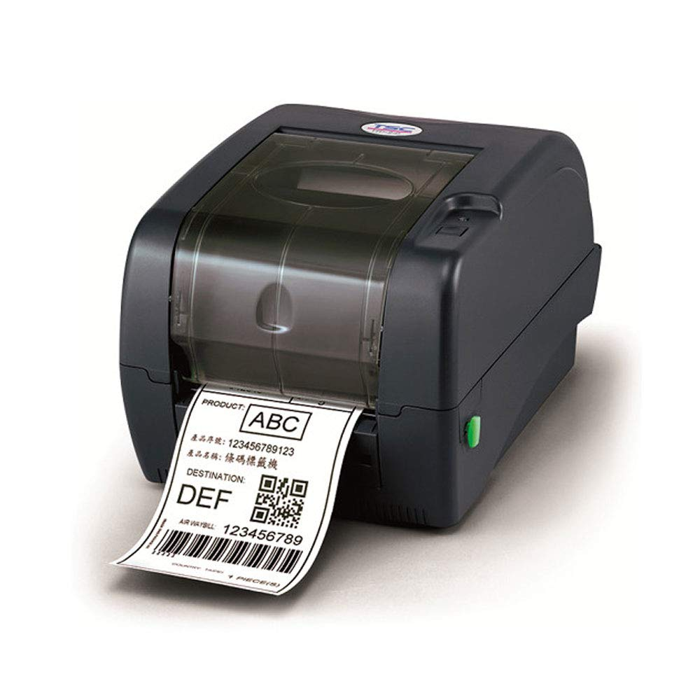 TSC TTP 345 Thermal Transfer Desktop Barcode Printer, 300 DPI