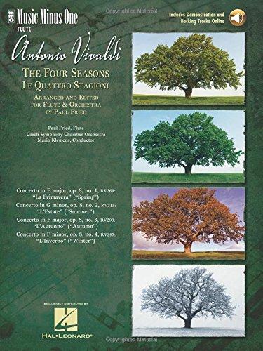 Vivaldi: The Four Seasons for Flute: Music Minus One Flute
