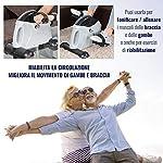 FFitness-FMMB408B-Cyclette-Macchina-Pedaliera-Bici-da-Casa-Easy-Belt-Forza-Resistenza-Allenamento-Bike-Home-Gym-Trainer-Braccia-Gambe-Training-Computer