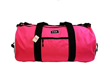 e982023d7632 Image Unavailable. Image not available for. Color  Victorias Secret PINK  Pink Marl Weekender Gym Duffle Bag ...