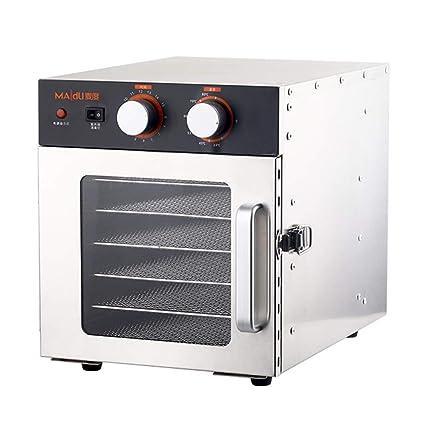 Secadora De Alimentos Secador de alimentos-acero inoxidable, control de máquina multifuncional Secador de