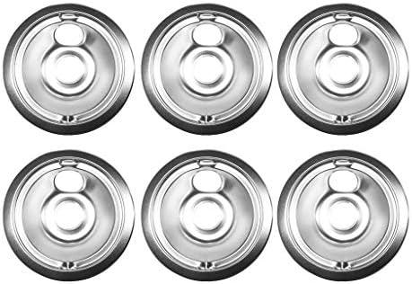 Reemplazo Estufa de Horno Drip Bowl Pan Sartenes de Goteo de 6 ...