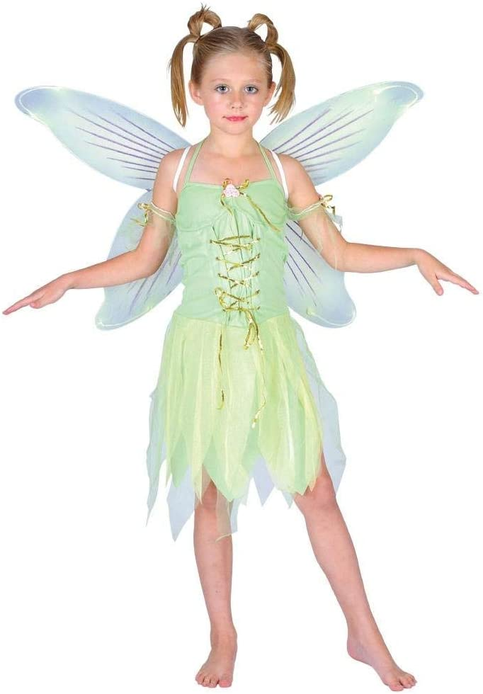 FAIRY TINKERBELL STYLE FANCY DRESS WINGS WORLD BOOK DAY CHILD GIRL