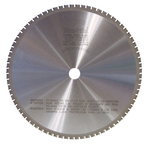 Tooth Circular Tipped Carbide Saw - Makita A-91039 12-Inch 76-Teeth Stainless Steel Carbide-Tipped Saw Blade