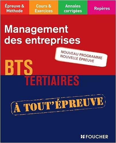 Téléchargement de livres du domaine public Management des entreprises BTS Nouveau programme Nouvelle épreuve 2216121754 by Lydie Michaux-Omont PDF CHM