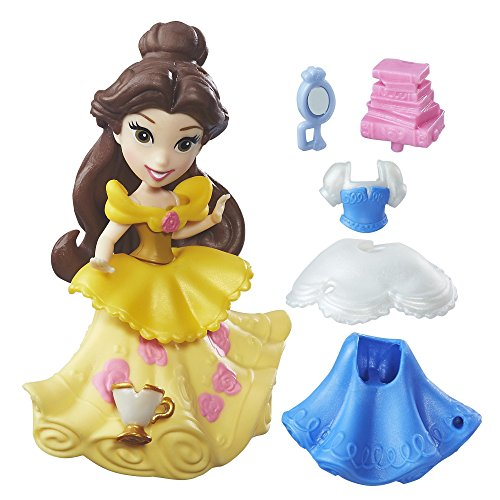 [Disney Princess Little Kingdom Fashion Change Belle] (Elsa Costume Change)