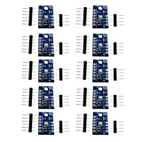 Homyl 10 Pcs Digital Breakout BME280 Temperature Humidity Barometric Pressure Sensor Module with IIC I2C for Arduino
