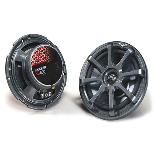 Kicker 08KS600 6-Inch 160mm Coax Speaker (05 Tsx Grill compare prices)
