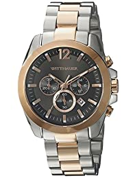 WITTNAUER Men's WN3023 22mm Stainless Steel Two Tone Bracelet Watch