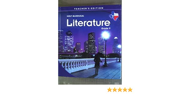 Literature grade 9 texas teachers edition holt mcdougal literature grade 9 texas teachers edition holt mcdougal 9780547116075 amazon books fandeluxe Images