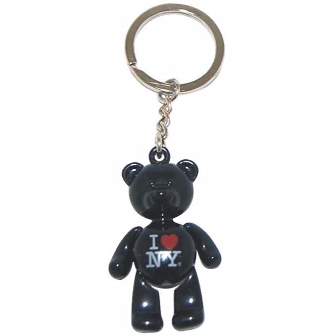 Amazon.com: I Love New York oso Key-chain viene en metal ...