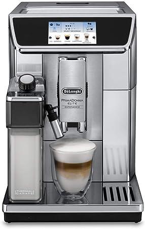 DeLonghi ECAM 650.75.MS Independiente Totalmente automática Plata - Cafetera (Independiente, Granos de café, De café molido, Molinillo integrado, Plata): Amazon.es: Hogar