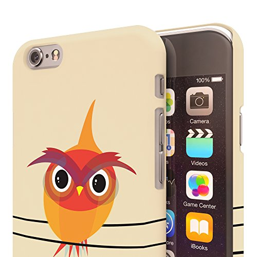 Koveru Back Cover Case for Apple iPhone 6 - Angry Owl Bird