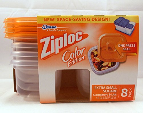 ziplock containers square - 4