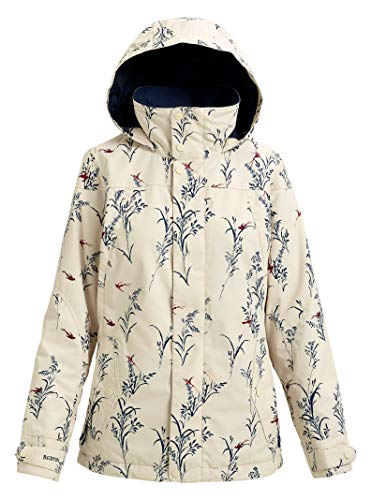 Burton Women's Jet Set Jacket, Canvas Birds, Small (Snowboarding Set Women)