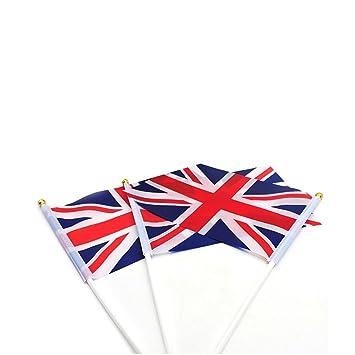 Amazon.com: 50 banderas de bandera de Reino Unido de Gran ...