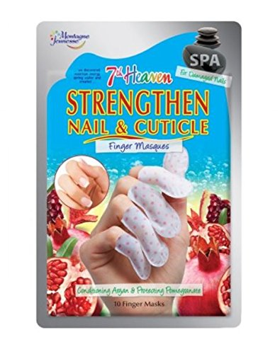 Spa 7th Heaven Strengthen Nail & Cuticle Mask by Montagne Jeunesse