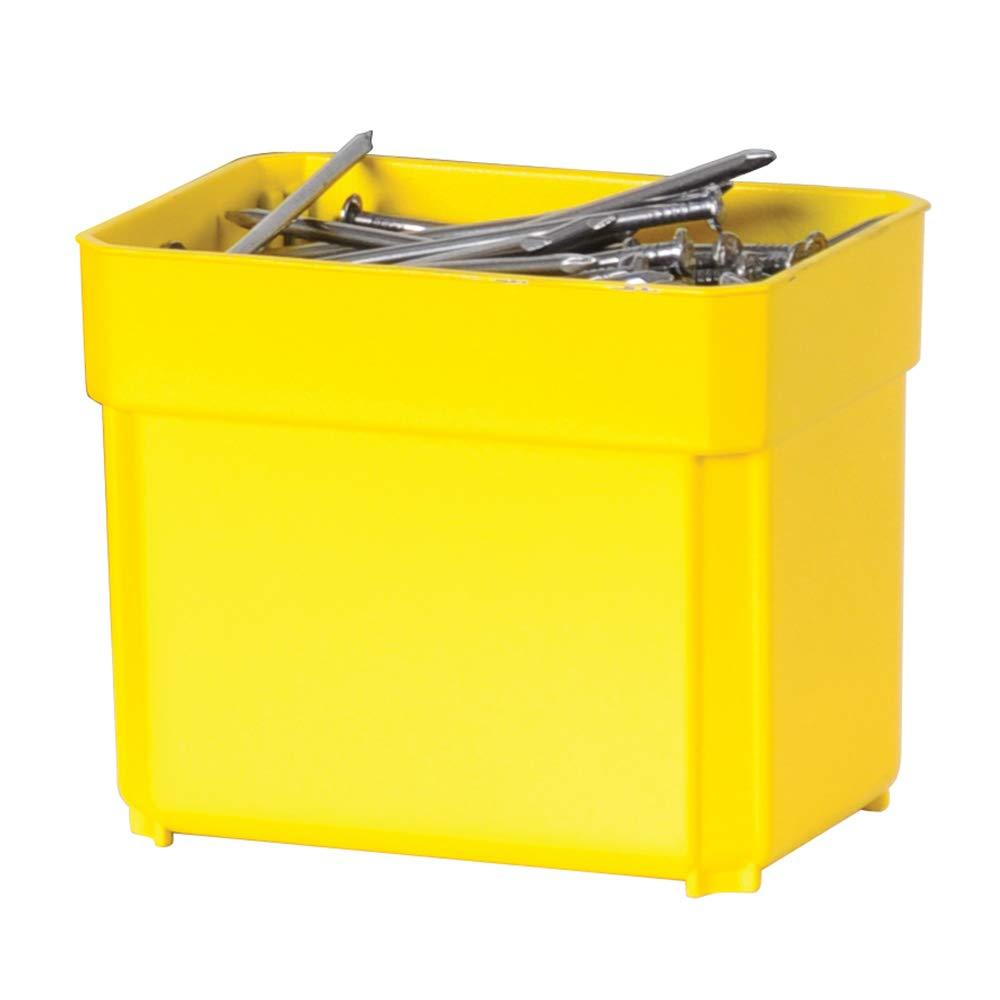 Stanley FatMax Aufbewahrungsbox 1-97-521 45 x 12 x 36 cm, tiefe F/ächer, stabile Kunststoffschlie/ßen, herausnehmbare Boxen, kratz- und schlagfester Deckel