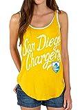 Junk Food NFL San Diego Chargers Mustard Yellow Juniors Tank Top