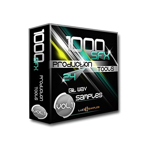 1000 SFX Production Tools Vol. 1 WAV Files (24Bit) - set of Exeptionally Good Sound Effects designed for Commercial use: Modern Music Production, Film, TV, Radio SFX Sounds