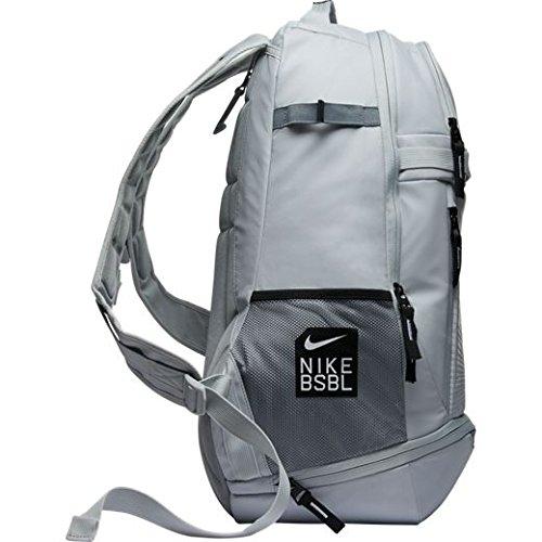 the latest 09f9d 2c5b4 high-quality Nike Vapor Elite 2.0 Baseball Backpack White Black Silver