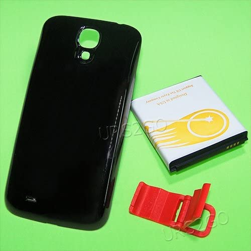 8600mAh Extended Double Layer Battery Back Cover Folding Bracket for MetroPCS Samsung Galaxy S4 SGH-M919N Phone
