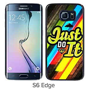 Fashionable And Unique Designed Case For Samsung Galaxy S6 Edge With Nike 17 Black Phone Case