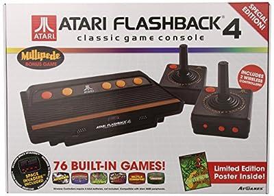 Atari Flashback 4 Retro Game Console - Electronic Games