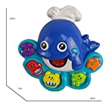 Tevelo Dolphin Shape Musical Lights Toy for Toddlers