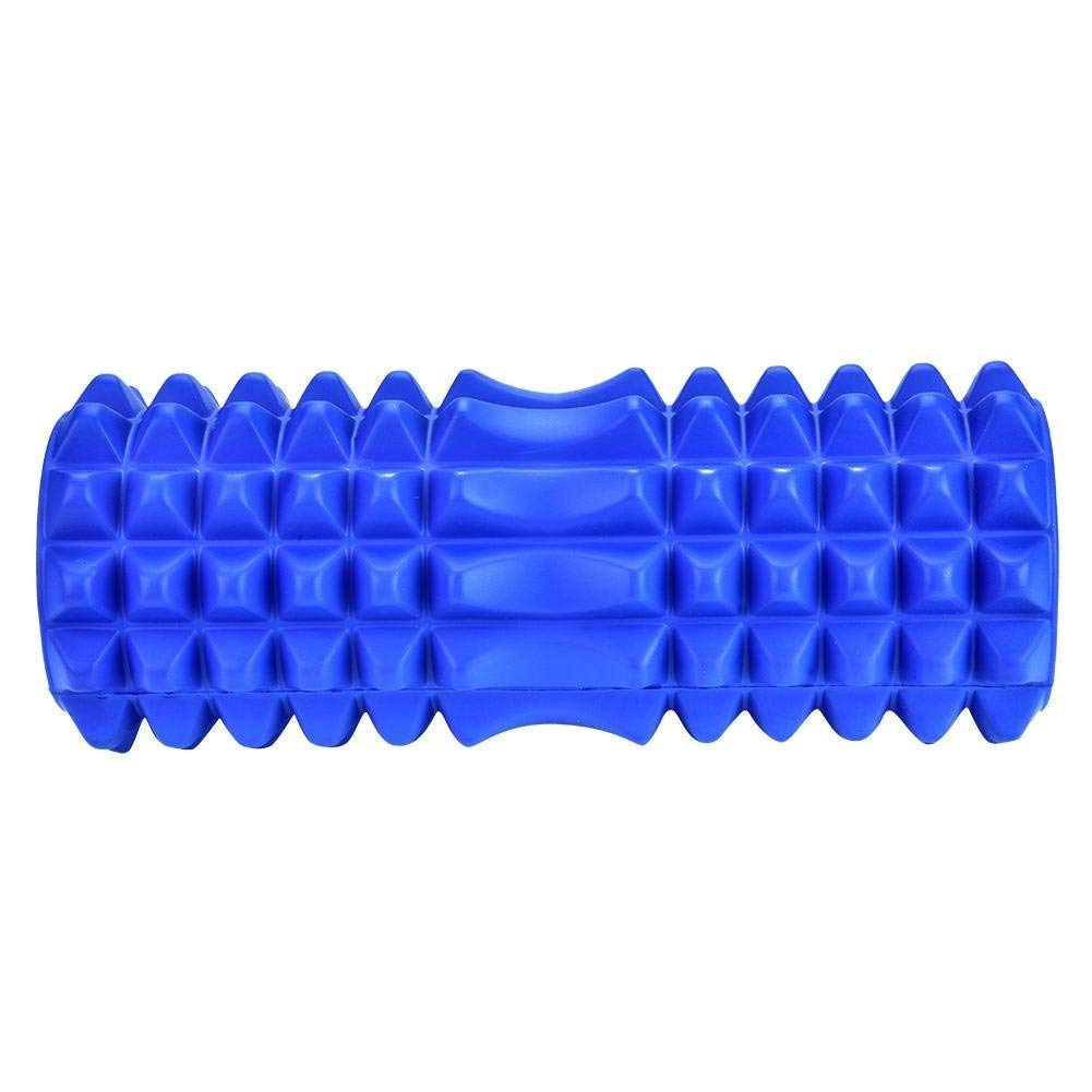 Dream Wings Foam Roller Massager for Trigger Point Physical Therapy Massage Deep Tissue Rollers for Sore Muscles, Pre and Post Workout, Exercise, Recovery, Yoga, Pilates, Cycling and Running (Blue) by Dream Wings (Image #9)