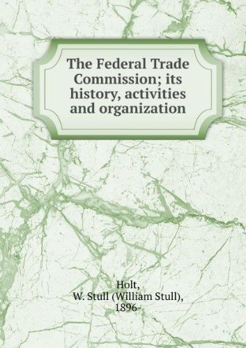 The Federal Board for Vocational Education; Its History, Activities and Organization