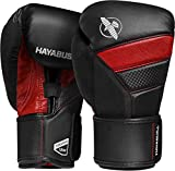 Hayabusa T3 Boxing Gloves - Black/Red, 16oz