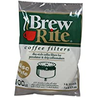Disc Coffee Filter for 3  and 3.5 Percolator 600 Count Brew Rite