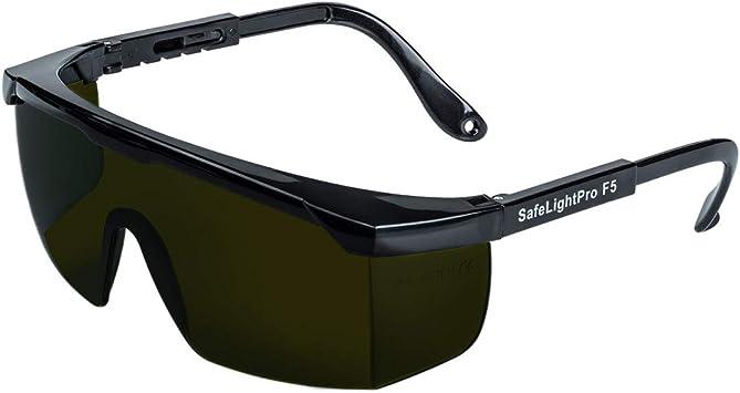Safelightpro Gafas De Protección Para Depilación Hpl Ipl Amazon Es Salud Y Cuidado Personal