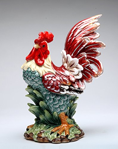 Cosmos Gifts 31976 Rooster Figurine 10 1/2