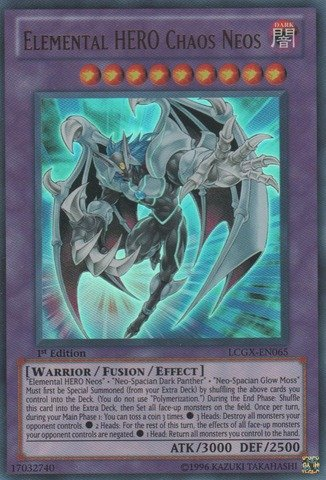 Yu-Gi-Oh! - Elemental HERO Chaos Neos (LCGX-EN065) - Legendary Collection 2 - Unlimited Edition - Ultra - Elemental Hero Yu Neos Oh Chaos Gi