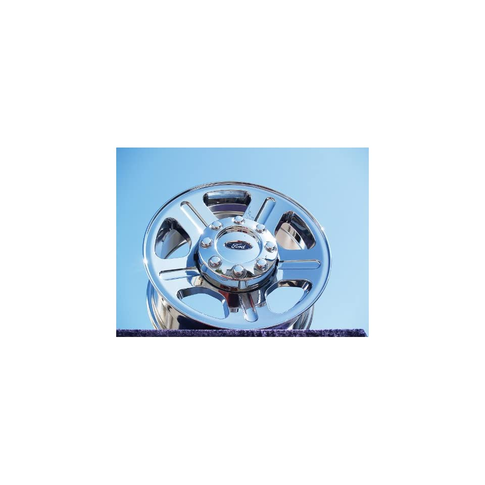 Ford F 250/F 350 Super Duty Set of 4 genuine factory 18inch chrome wheels