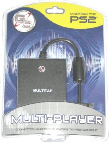 (Multi-tap Playstation 2 Ps2 Multitap Adapter for Slim System and Orginal)