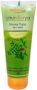 Patanjali Saundarya Neem-Tulsi Face Wash 100g