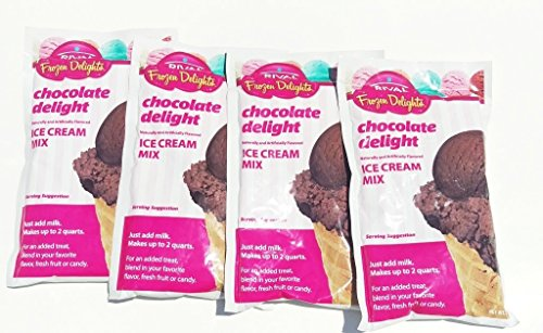 Chocolate Delight Ice Cream Mix - Pack of 4 (Ice Cream Ingredients compare prices)