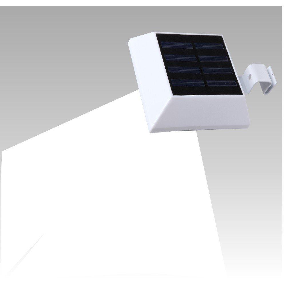 【オープニング大セール】 T-SUN ソーラーライト ソーラーライト 6LED ホワイト 6000K昼白色 センサーライト 人感センサー B01GQ48QT0 ガーデン 太陽充電 ウォールライト クリップ着脱式ソーラーライト ガター(溝)、フェンス、ポーチ 屋外照明 玄関先 ガーデン B01GQ48QT0, チアーズR店:1b3d52de --- mfphoto.ie