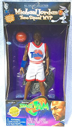 - MICHAEL JORDAN / TIME SQUAD MVP from the movie SPACE JAM All Galaxy Collection 9 Inch Special Edition 1996 Action Figure & Accessories