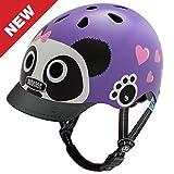 Nutcase - Little Nutty Bike Helmet for Kids, Purple Panda