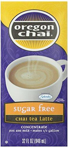 Tea Oregon Chai Vanilla - Oregon Chai, Sugar Free Original Chai Tea Latte Concentrate, 32 0Z