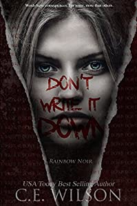 Don't Write It Down by C.E. Wilson ebook deal
