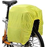 Fietstas bagagedrager regenhoes Fiets-afdekking fluorescerende hoes cover fietskoffer Fietsmand cover regenhoes…