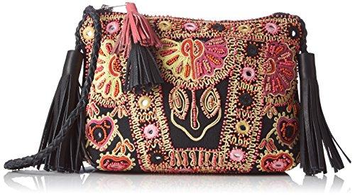 Antik Batik Mysor, Poschette giorno donna multicolore Multicolore(Multico) 6x18x23 cm (W x H x L)