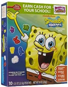 Betty Crocker SpongeBob Squarepants Fruit Snacks - 8 oz