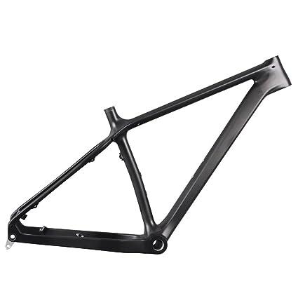 Amazon.com : ICAN 26er Carbon Fat Tire Snow Bike Frame 16/18/20 Inch ...