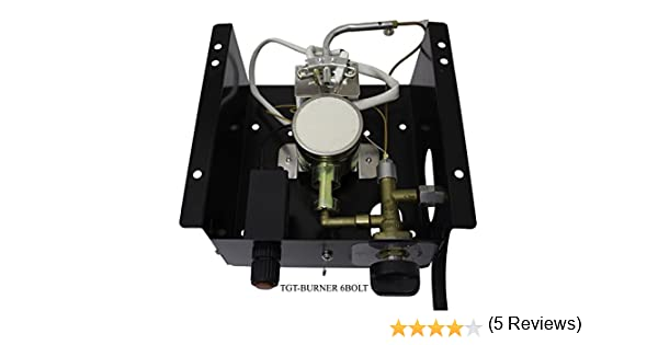 AZ Patio Heaters TGT-Burner 3BOLT 3 Bolt Hole Pattern Burner for Triangle Glass Tube Patio Heater